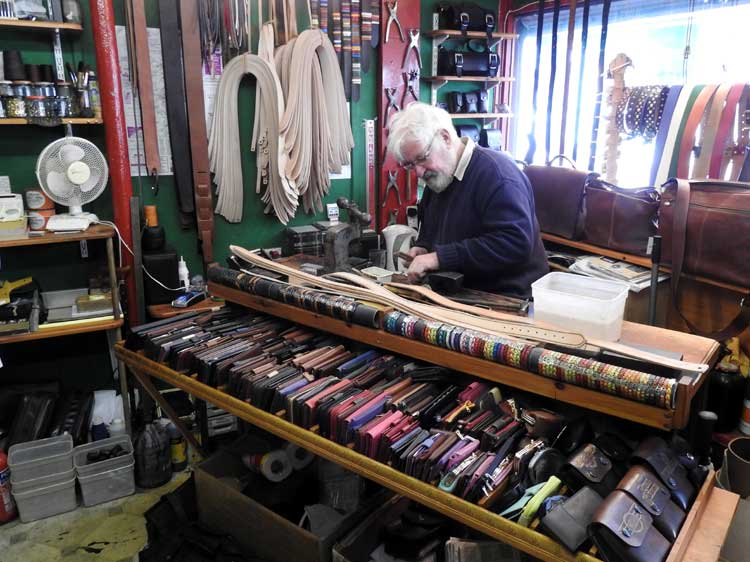 Penzance Leather Crafts, Cornwall